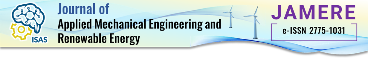 Journal of Applied Mechanical Engineering and Renewable Energy (JAMERE)